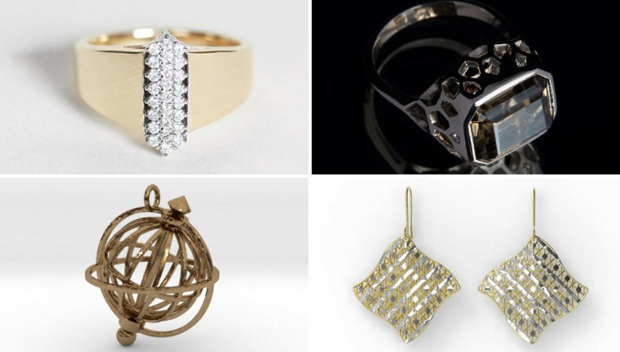 Top 10 Most Stunning 3D Printed Jewelry Pieces 2021