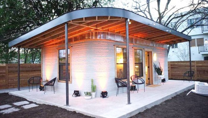 ICON New Story 3D printed house USA Texas