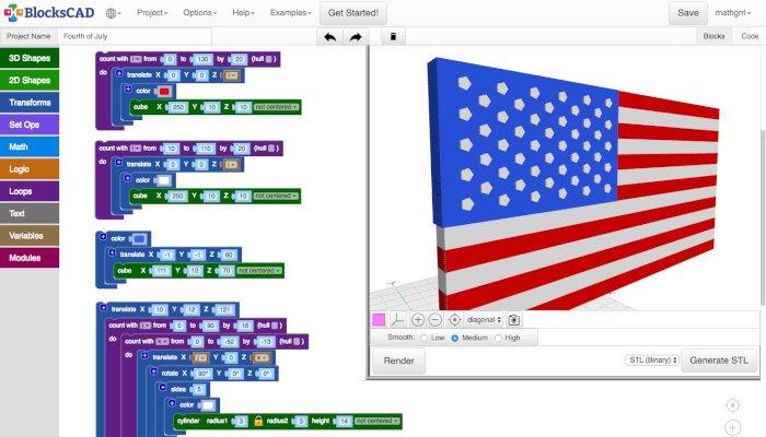 blockscad free 3d software