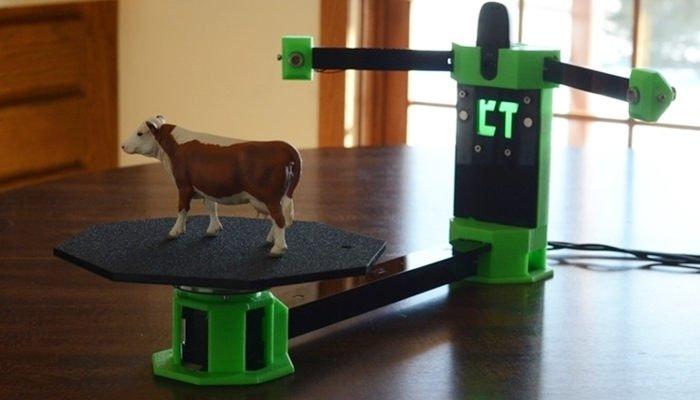 cowtech diy 3d scanner