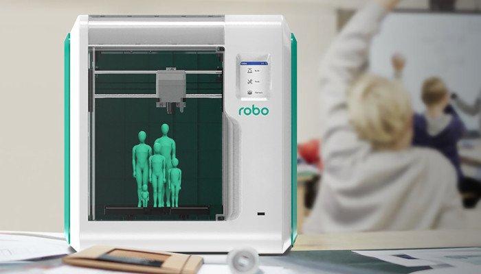 robo e3 educational 3d printer
