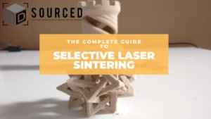 selective laser sintering sls 3d printing guide cover