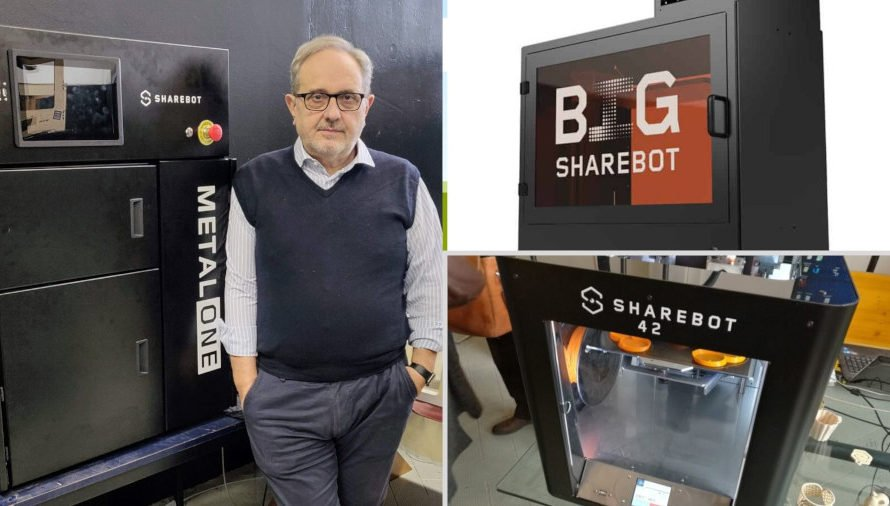 Sharebot metalONE: The Newest Metal 3D Printer From Italy