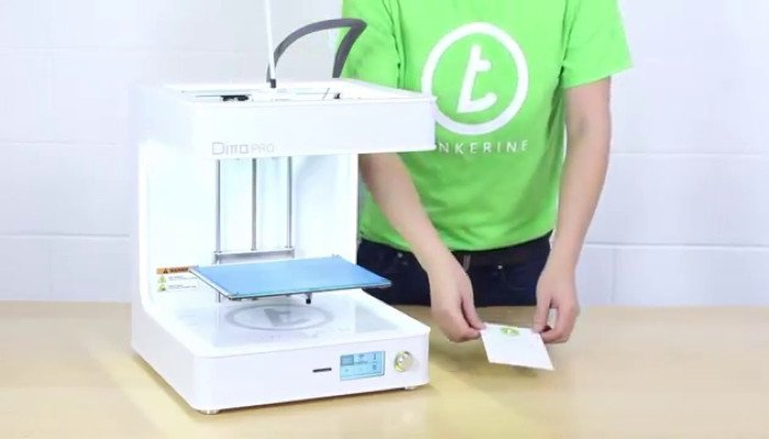 tinkerine ditto pro 3d printer for education and children