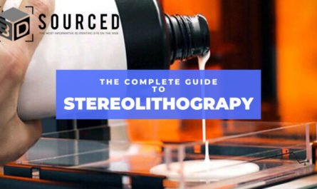 stereolithography sla 3d printing guide cover