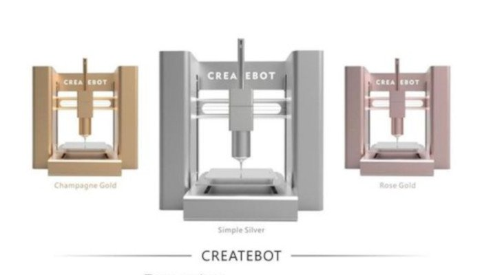 createbot different printer color options