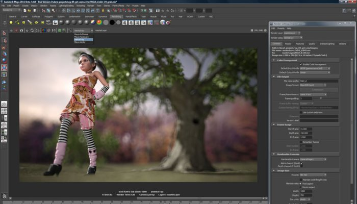 maya 3d software for game design and animation