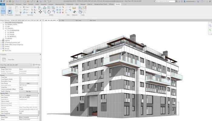 revit architecture BIM CAD software