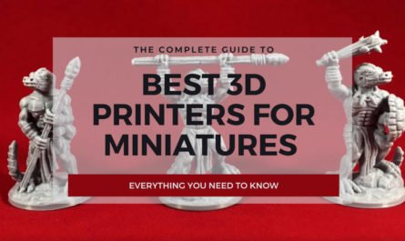 best 3d printer for miniatures cover
