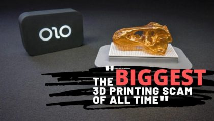 """ONO: How the alleged """"Biggest 3D Printing Scam"""" of All Time Unfolded"""