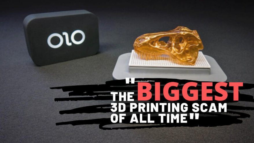 ono alleged biggest 3d printing scam