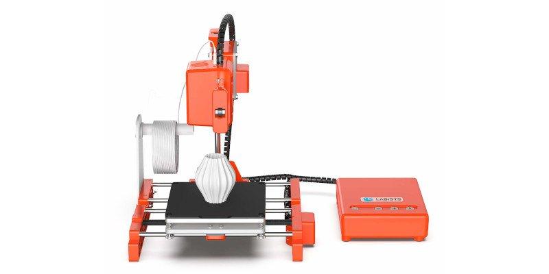 labists mini x1 3d printer with a tiny build volume