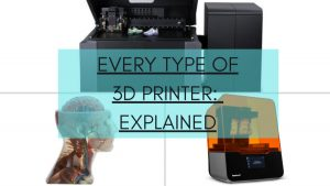 types of 3d printer guide