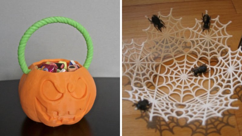 3d printed halloween candy carriers