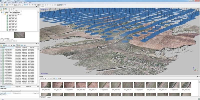 agisoft metashape professional photogrammetry software