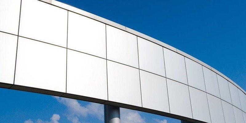 3D printed aluminum external facade