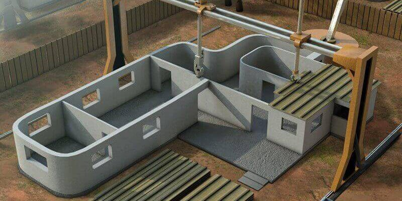 3d printing uses in construction