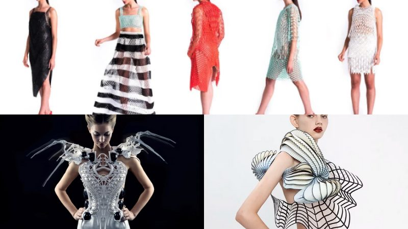 3D Printed Clothing Designs