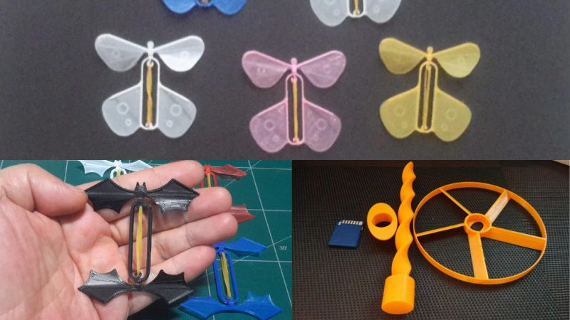 Coolest 3D Printed Flying Objects