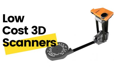 low cost 3d scanner buyer's guide cheap affordable scanning
