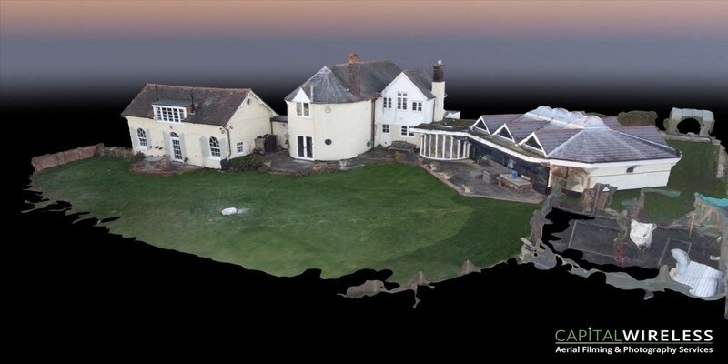 Photogrammetric view of real estate