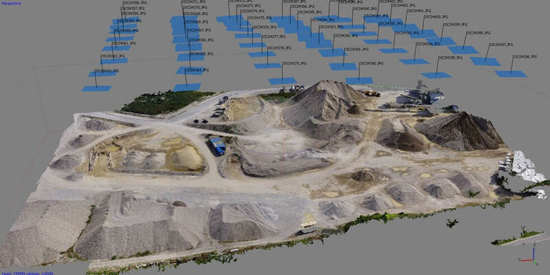 using photogrammetry to access difficult locations