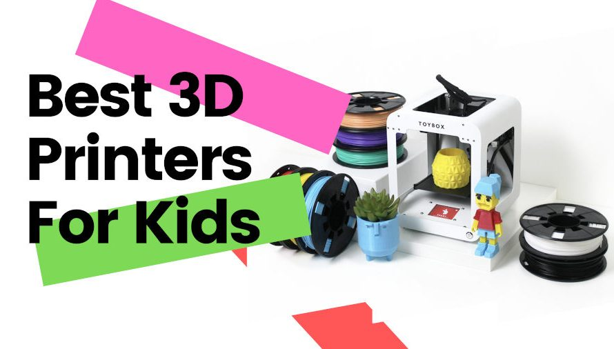 The 8 Best 3D Printers for Kids 2021 (All Price Ranges!)