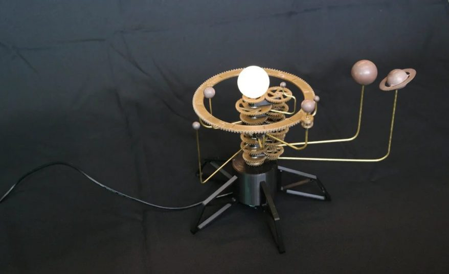 3D Printer orrery project for students