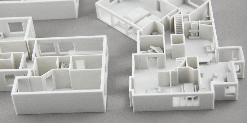 Paper 3D Printing Architectural Model