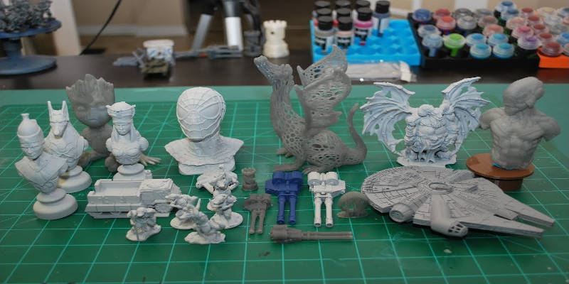 Peopoly Moai DIY 3D resin printer products