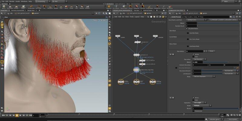 Houdini 3D modeling software