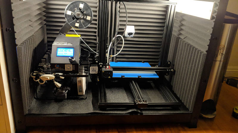 enclosure for 3d printing to maintain stable temperatures and prevent warping