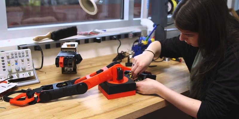 Instructables 3D Printed Robotic Arm