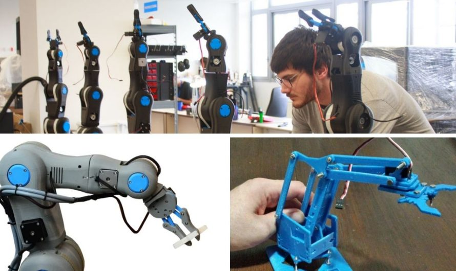 The 10 Coolest DIY 3D Printable Robotic Arm Projects