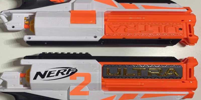 3D Printed Nerf Gun Rail Attachment