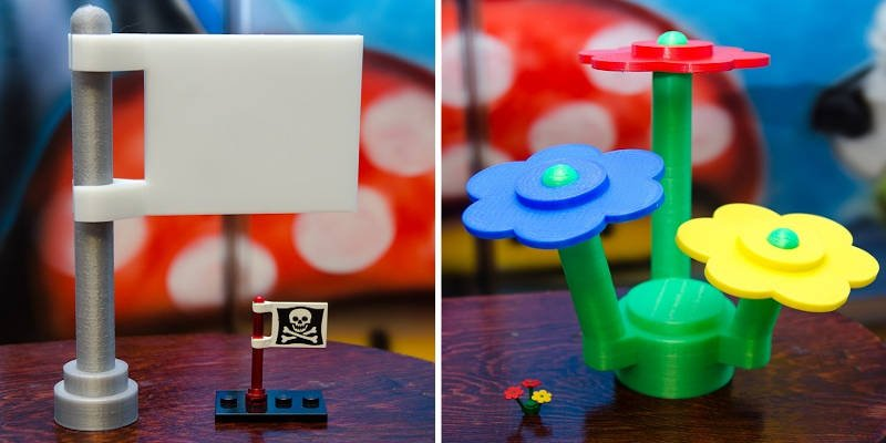3D Printed Lego Example
