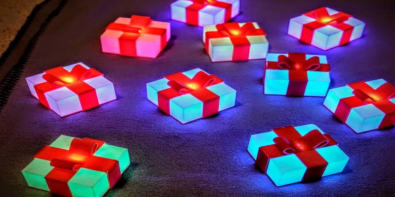Best 3D Printed Gifts Glowing Box