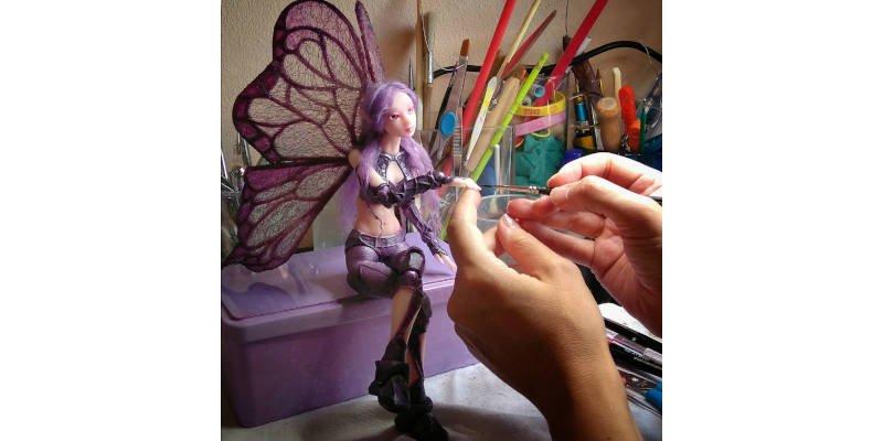 Sonia Verdu 3D Printed Doll