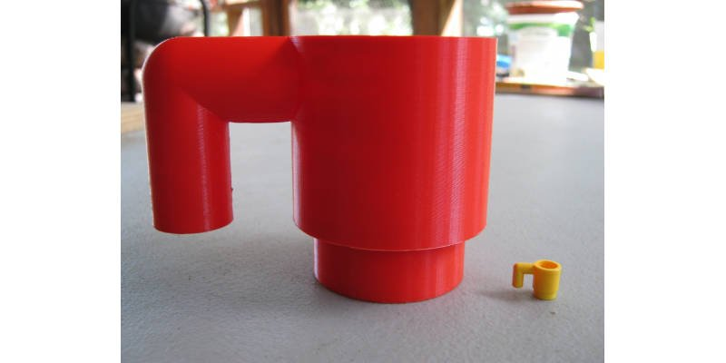 3D Printed Lego Cup
