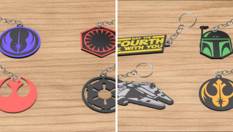 35 Cool 3D Printed Keychains You Can Print Today