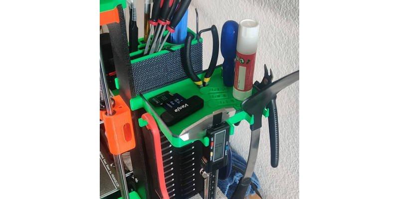 3D Printed Tool Tidy Multipruprose