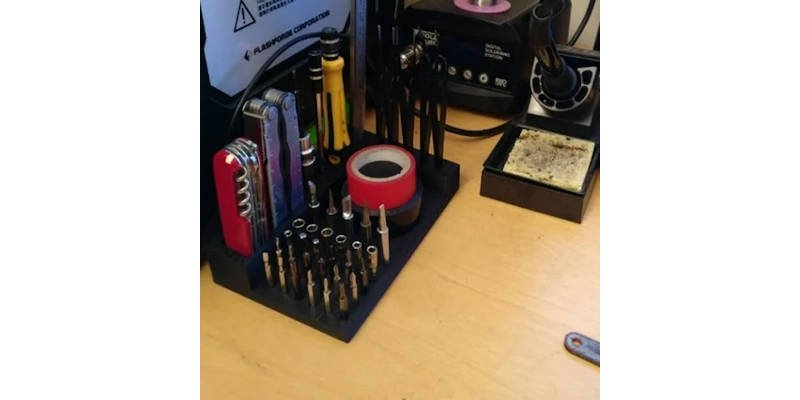 All in One 3D Printed Tool Tidy