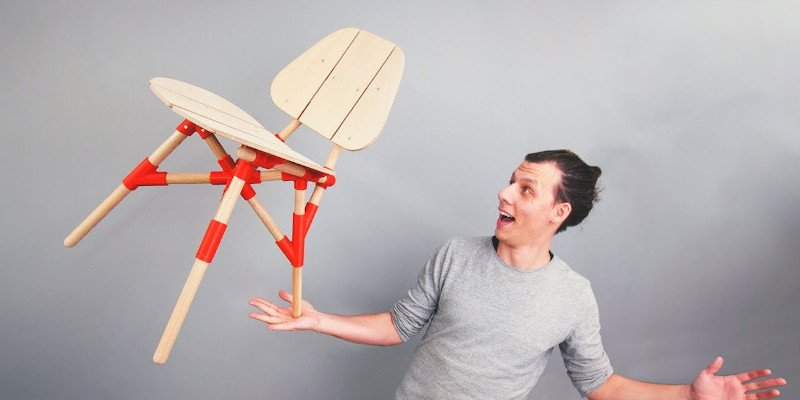 chis chappel 3d printed chair