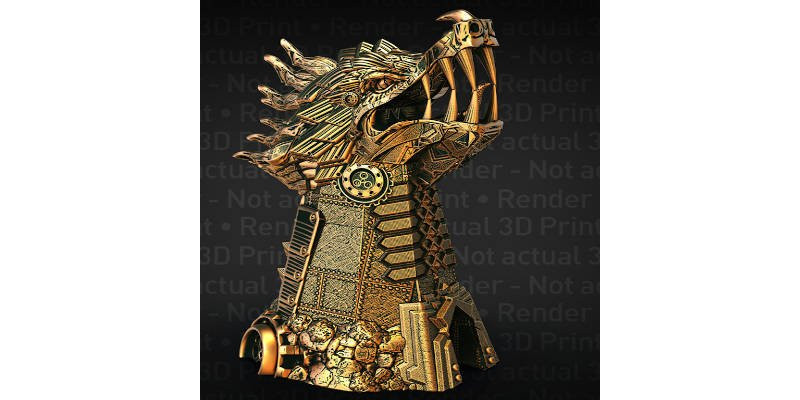 Monster Dice Tower Dragon