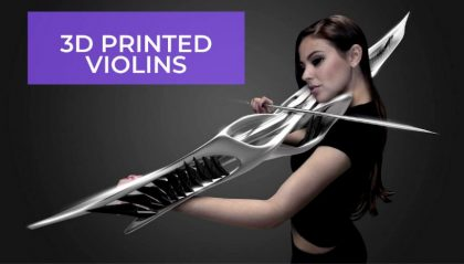 8 Amazing 3D Printed Violins You Can Print At Home