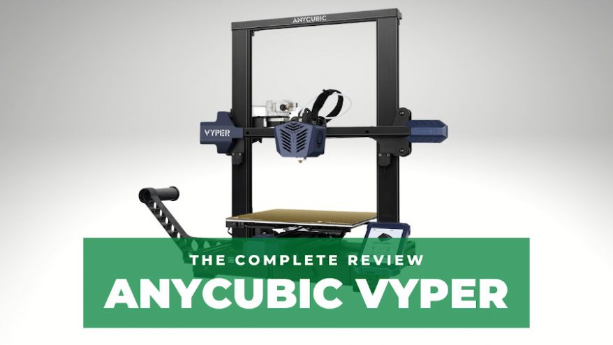 anycubic vyper review test