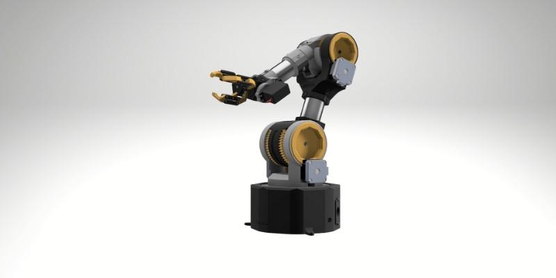kauda 3d printed robotic arm