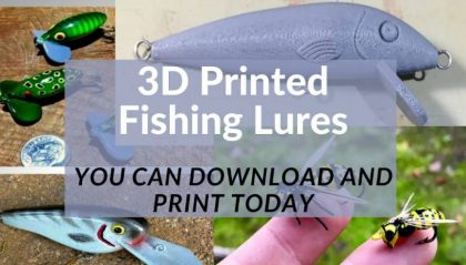 11 Great 3D Printed Fishing Lures You Can Print Today – Gone Printin'