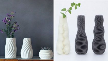 11 Cool 3D Printed Vases You Can Print At Home Today