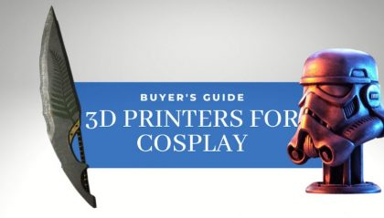 Top 5 Best 3D Printers For Cosplay (Costumes, Props & More!)
